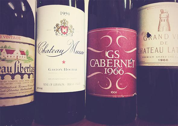 Grand taste-off wines