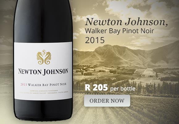 Newton Johnson Walker Bay Pinot Noir 2015