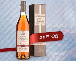 20% off Cognac and Armagnac