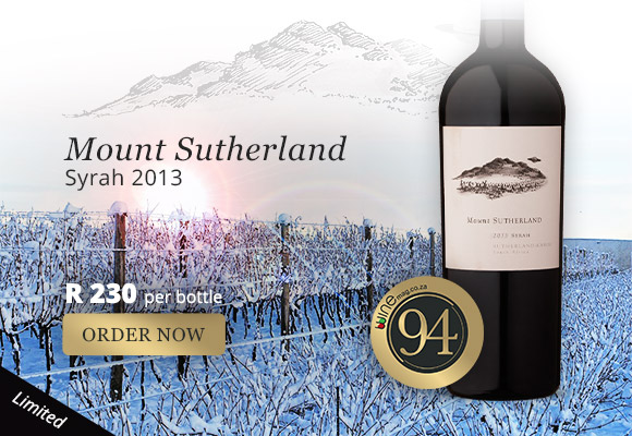 Mount Sutherland Syrah 2013