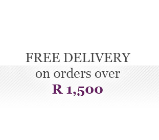 Free delivery on orders R1,500