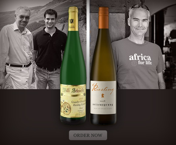 Elgin and Mosel Riesling