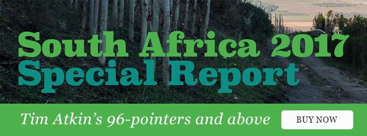 Tim Atkin 2017 SA Report