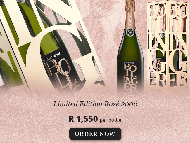 Bollinger Limited Edition Rose 2006