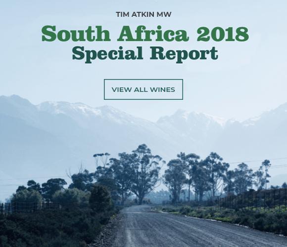Tim Atkin 2018 SA Report