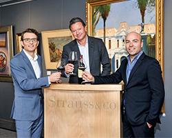 Strauss & Co Fire Wine Auction Johannesburg