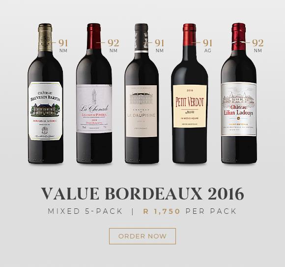 Bordeaux 2016 Mixed 5 Pack